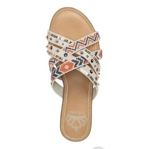 NWT Fergalicious Slides Sandals
